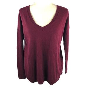 American Eagle Outfitters Burgundy Dolman Sweater